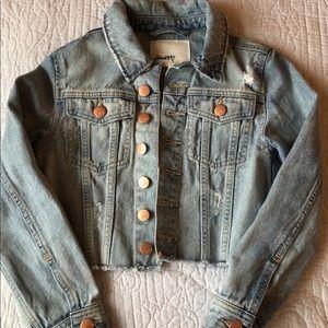 Girls Cropped Denim Jacket size 7/8